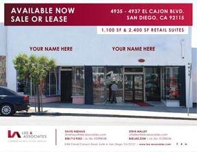 4937 El Cajon Boulevard - San Diego