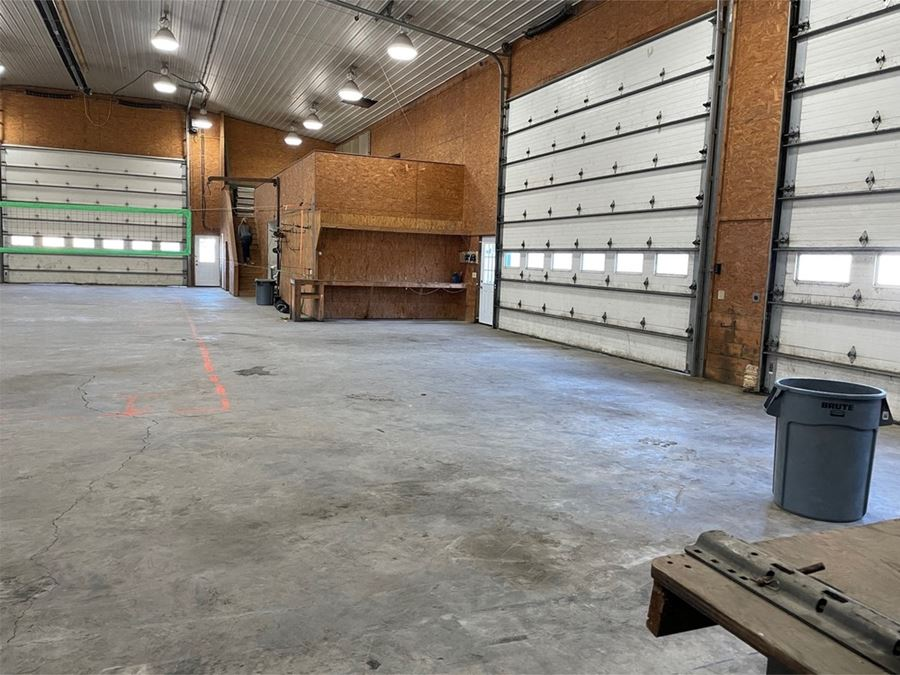 Warehouse with office space