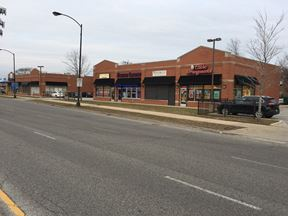 Retail Center with Parking Lot On-Site Off Halsted in Chicago
