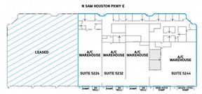 For Lease   Up to ±27,080 SF Available at Interbelt Business Center - Houston
