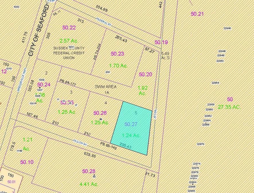 1.24 Acres Boyd-Mullen