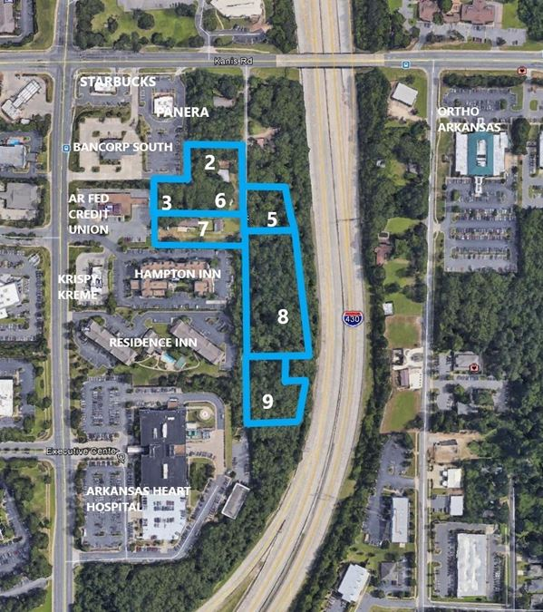 Office/Hotel/Bank Development Opportunity in West Little Rock Medical Corridor