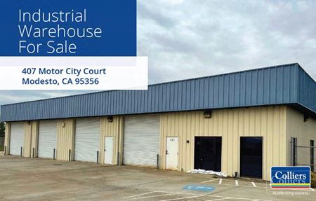 INDUSTRIAL BUILDING FOR SALE - Modesto