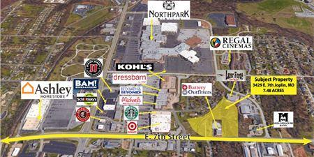 7.48 acres, East of Northpark Mall ($1.25 / Sq Ft) - Joplin