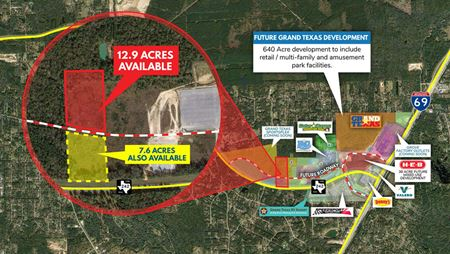 12.9 Acres SH 242 Near HWY 59 - New Caney