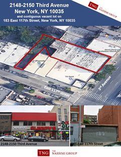 Prime East Harlem Development Site - Potential 100,000 BSF - New York