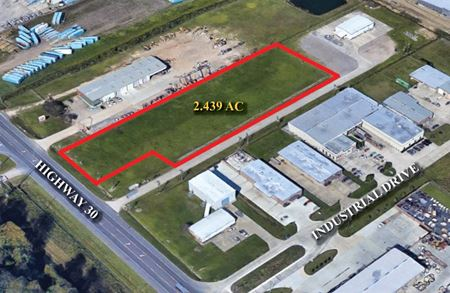 Hwy 30 Visibility: NEW +/-14,000 SF Office/Warehouse on 2.4 Acres - Geismar