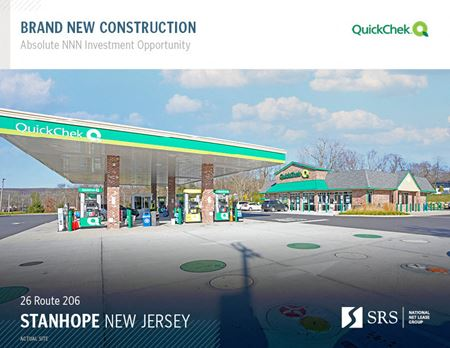 Stanhope, NJ - QuickChek (Recently Acquired by Murphy USA) - Stanhope