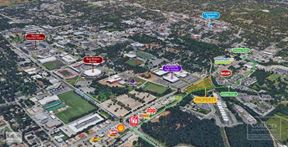 SEC Martin Luther King Jr. Blvd & Stadium Drive, Fayetteville - Fayetteville