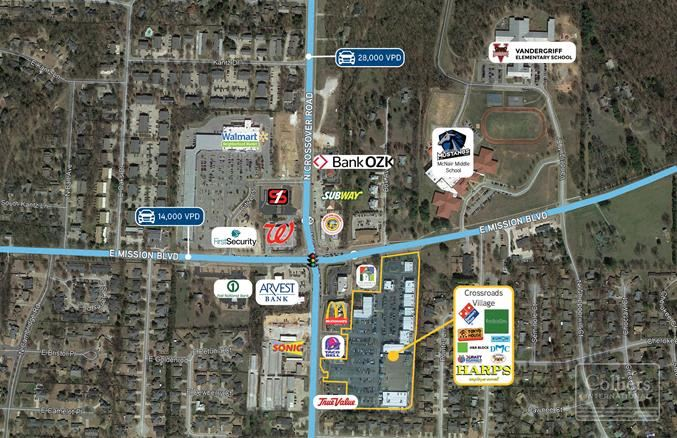 1780 - 1860 N Crossover Road - Crossroads Village Shopping Center