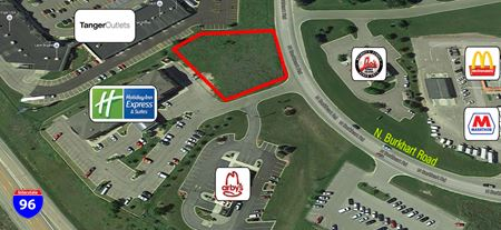 Holiday Inn Express - Pad Site - Howell