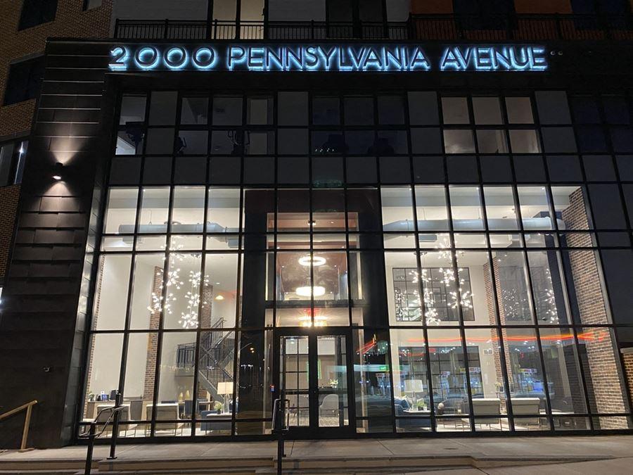 2000 Pennsylvania Avenue