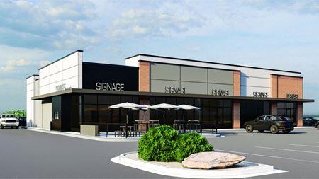 Planned Retail Strip Center - Wichita