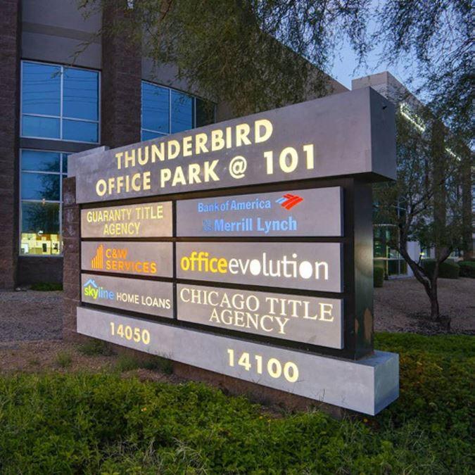 Thunderbird Office Park For Lease