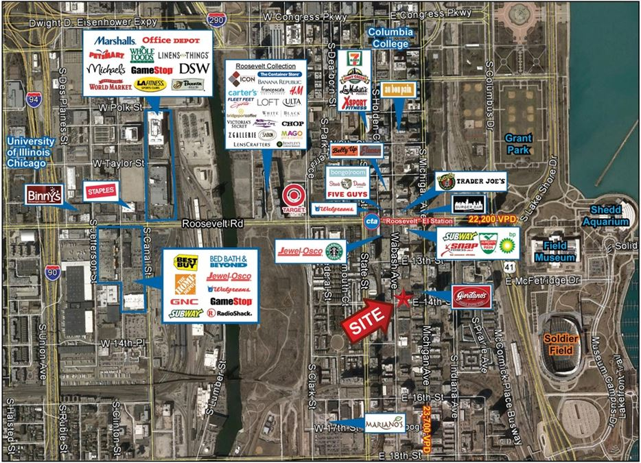 South Loop Corner Retail Space at Coeval
