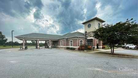 Former Bank Building with Drive-thru for Lease on Hwy 14 - Greer