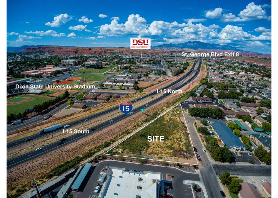I-15 frontage commercial