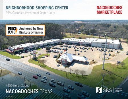 Nacogdoches TX - Nacogdoches Marketplace - Nacogdoches