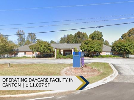 Operating Daycare Facility in Canton | ± 11,067 SF - Canton