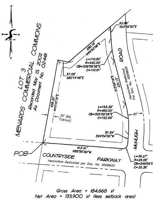 4.24 Acre Commercial Parcel