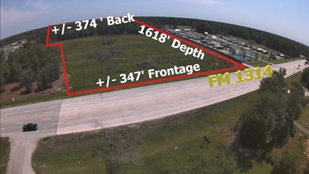 13.45 Acres of Land on FM 1314 in Conroe - Conroe