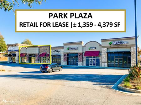 Retail Space for Lease | Park Plaza  | ± 1,359-4,379 SF - Duluth