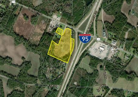 Highly Visible Commercial Land Along I-95 - Bowman
