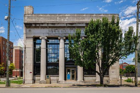 Bank Shot Billiard Building  Restaurant-Bar-Music Venue - Louisville