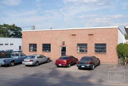 Industrial Building With 2,000 SF Office For Sale in Hartford - Hartford