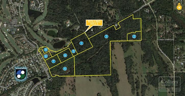 109.01± Acres Residential | New Smyrna Beach