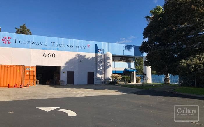 INDUSTRIAL BUILDING FOR LEASE AND SALE