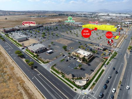 SPECTRUM SHOPPING CENTER - ANCHOR SPACE & STREET FRONT SHOPS - Perris