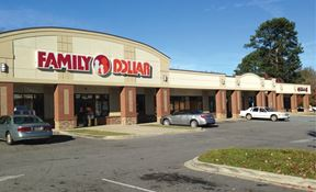 Retail Space for Lease in Pruitt Shopping Center in Anderson
