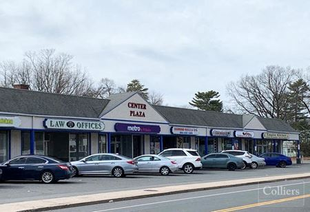 Retail spaces for lease in Manchester neighborhood strip center - Manchester