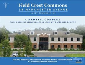 Medtail Complex Class A Medical Office Space For Lease With Approved Pad Site