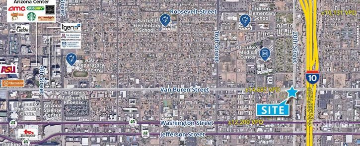 Retail Hard Corner for Lease in Downtown Phoenix