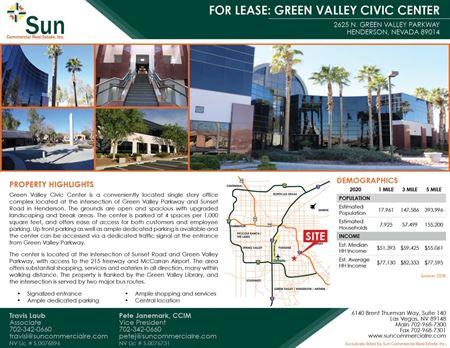 Green Valley Civic Center - Henderson