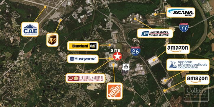 Lexington County Industrial Park Outparcels For Sale
