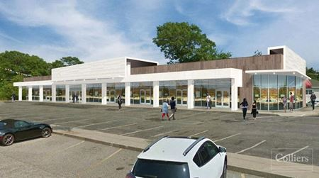 Medical/Retail Re-Development for Lease - Holbrook