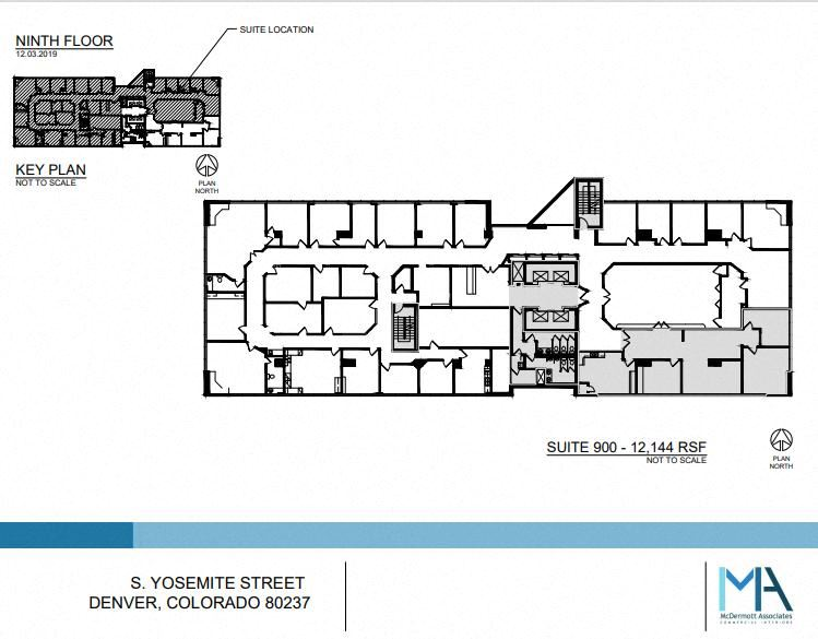 14,108 SF Professional and Medical Office Space in Denver, CO 80237
