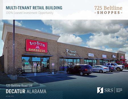 Decatur, AL - 725 Beltline Shoppes - Decatur