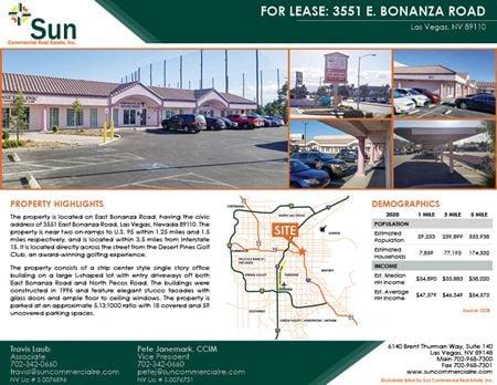 3551 East Bonanza Road - Las Vegas