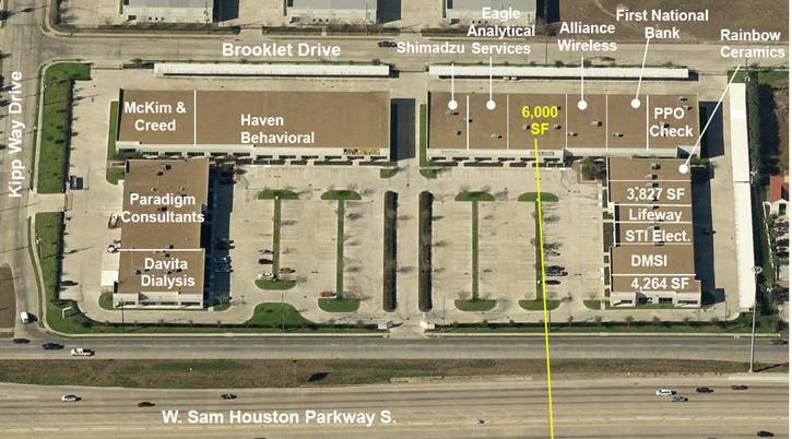 For Lease > Beltway 8 Office Center: Medical Clinic/Medical Office: Suite 320