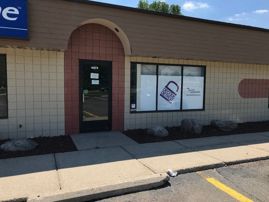 Retail – Services Suite for Lease in Ann Arbor