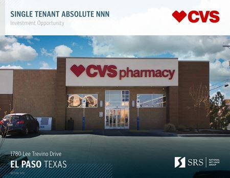 El Paso, TX - CVS ZCF - El Paso