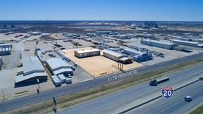 Two Warehouses with I-20 Frontage on 1.836 Acres - Odessa