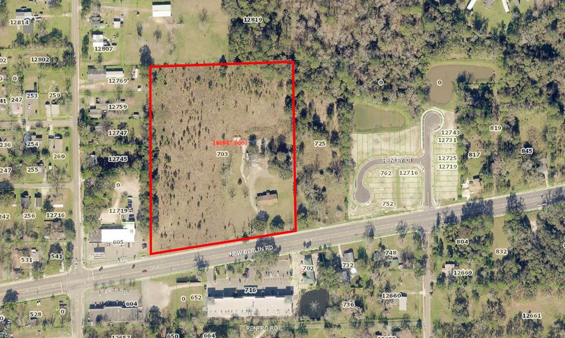 8.93 Acres For Sale on New Berlin Road
