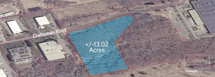 13.02 Acre Site For Sale