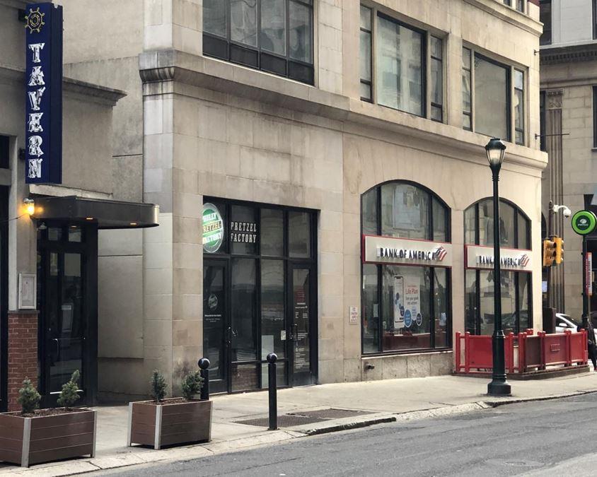 Small Format Retail Space in Rittenhouse Square