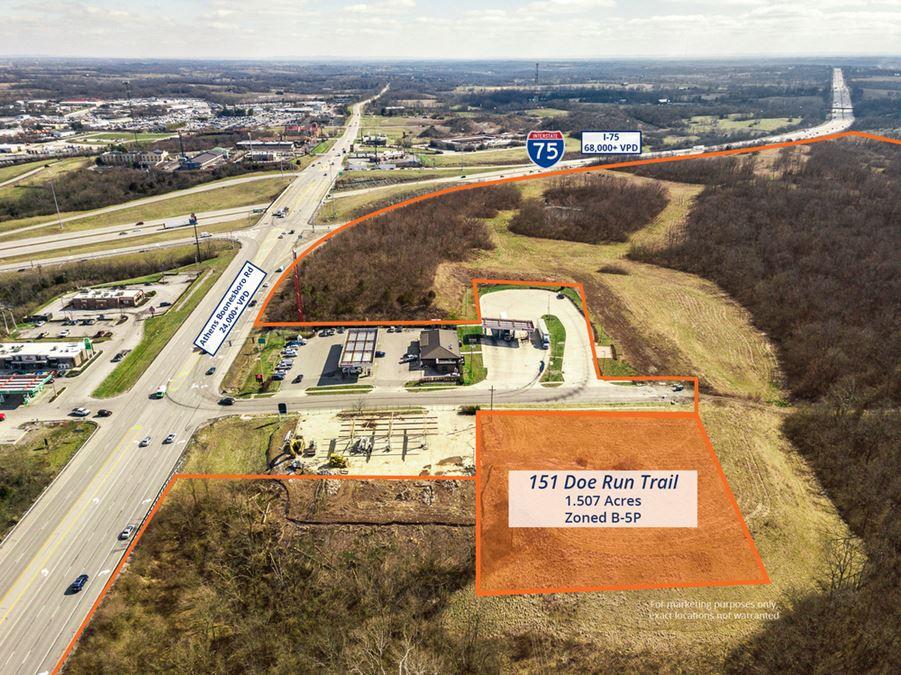 Interstate 75 Development Lot Athens Boonesboro Lexington KY